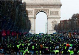 Жёлтый протест Франции