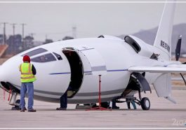 Самолёт, похожий на пулю