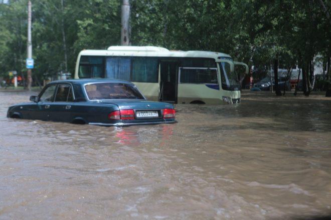 Климат Благовещенск наводнение