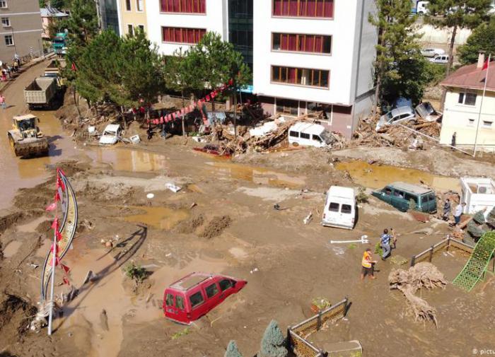 Новости Приднестровья и Молдовы   Турция Наводнение
