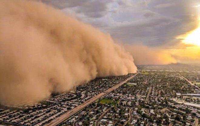 Феникс пыльная буря