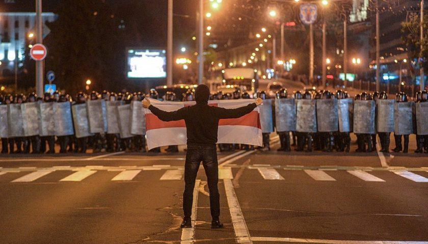 Белоруссия выборы протесты