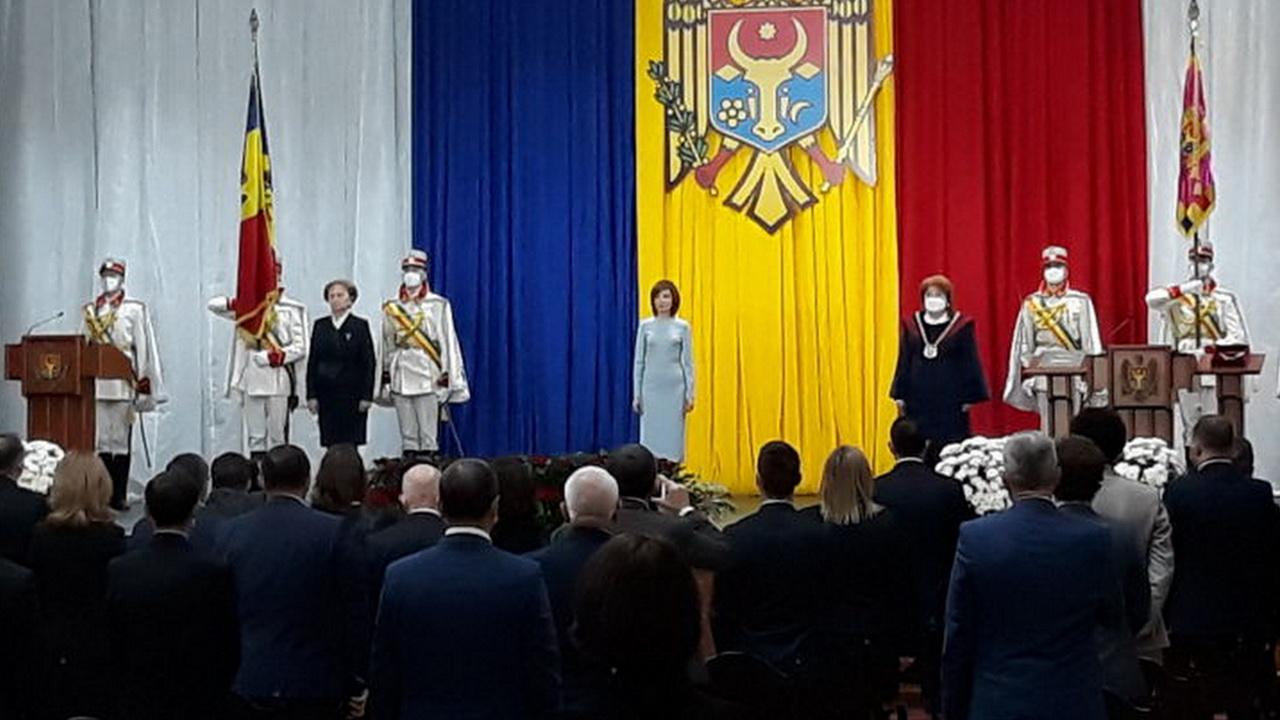 Майя Санду вступила в должность президента Молдавии
