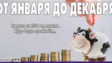 Новости Приднестровья и Молдовы | бюджет пмр на 2021