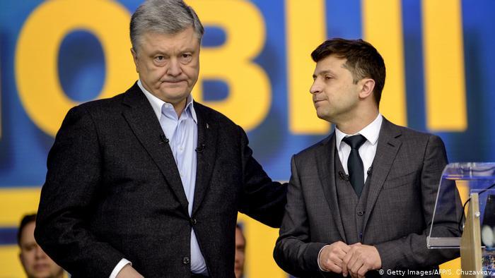 порошенко обвинил зеленского