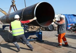 Строительство газопровода «Северный поток-2» застопорилось