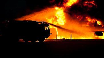 В республиканской больнице случился пожар