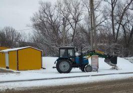 Приднестровье накрыл снегопад