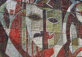 В Кишинёве исчезают мозаичные панно