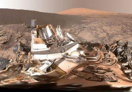 НАСА опубликовало аудиозапись и видео с Марса