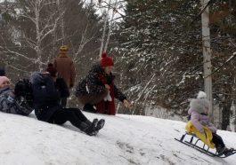Приднестровье освобождается из снежного плена