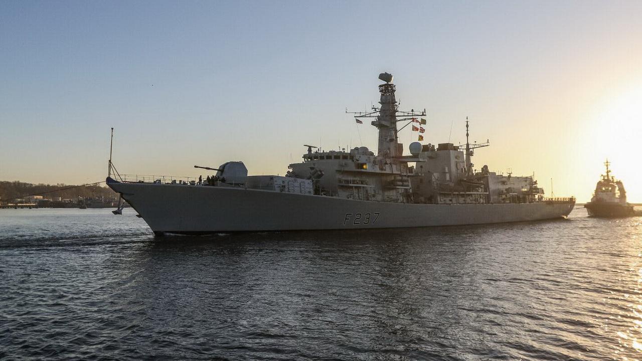 В Чёрное море направятся два военных корабля Великобритании