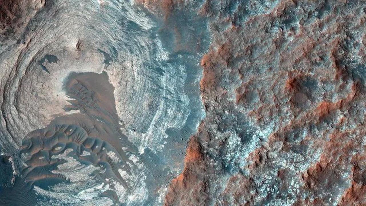 На Марсе нет озёр с солёной водой