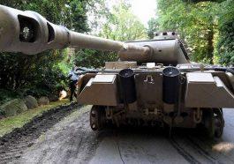 Немецкий пенсионер спрятал на своём участке танк