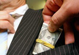 Коррупция на Украине достигла огромных масштабов