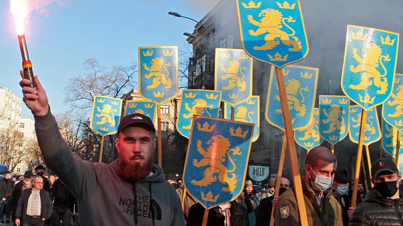 В Киеве прошёл марш националистов